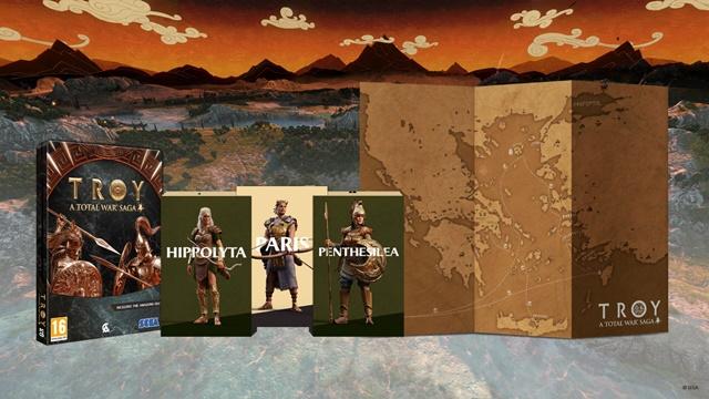 Total War Saga: TROY'da Physical Edition