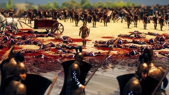Total War Saga: TROY'da Blood & Glory