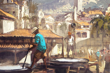 Anno 1800'de Yeni Dünyanın Sakinleri