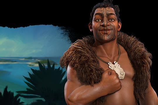 Civilization VI'da Maori'ye Kupe Liderlik Ediyor