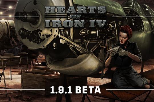 Hearts of Iron IV'te 1.9.1 Açık Beta Yaması III
