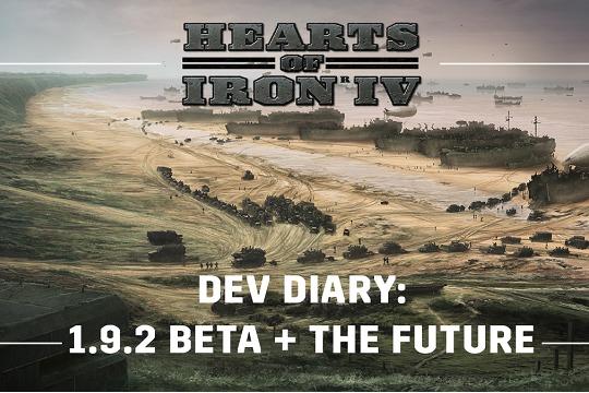 Hearts of Iron IV'te 1.9.2 Yaması ve Gelecek