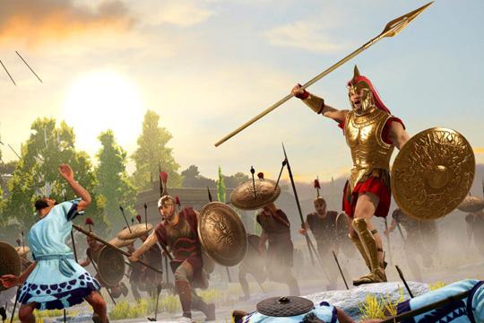 Total War Saga: TROY'da Aşil