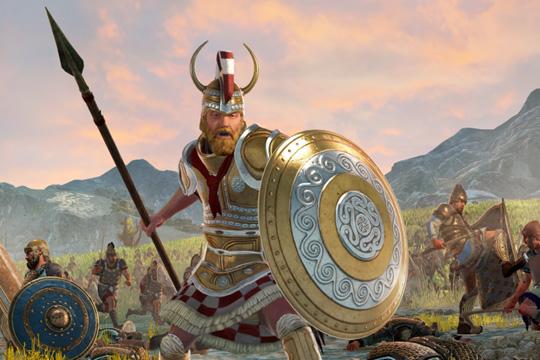 Total War Saga: TROY'da Menelaos