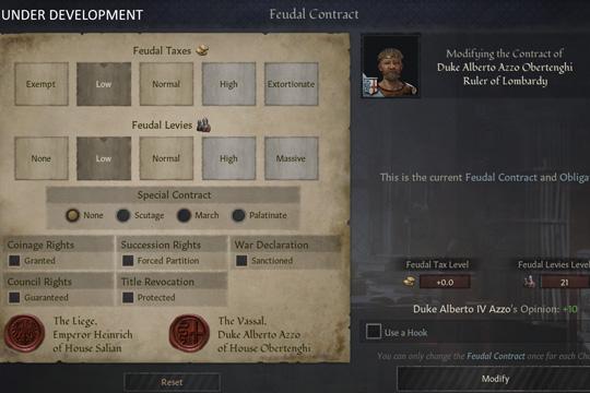 Crusader Kings III'te Sözleşme ve Müzakere