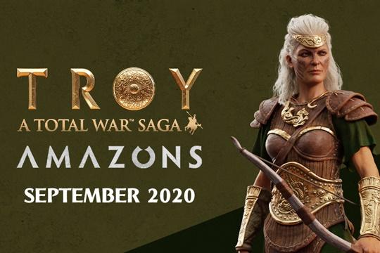 Total War Saga: TROY'da Amazons Eklentisine Dair Bilgiler