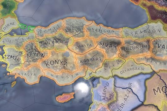 Hearts of Iron IV'te Türkiye Odak Ağacı