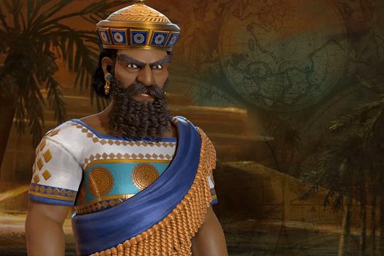 Civilization VI'da Babil'e Hammurabi Liderlik Ediyor