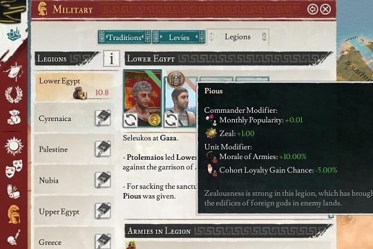Imperator: Rome'da Lejyonlar