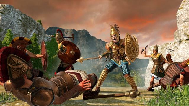 Total War Saga: TROY'da Penthesilea