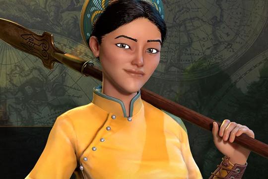 Civilization VI'da Vietnam'a Ba Trieu Liderlik Ediyor