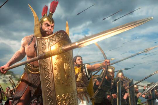 Total War Saga: TROY'da Ajax
