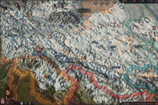 Crusader Kings III'te Kış ve İrlanda ile İtalya'daki Harita Değişiklikleri