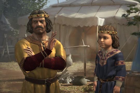 Crusader Kings III'te Çocukluk ve Yaşam Tarzı Olayları