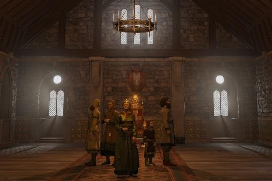 Crusader Kings III'te Taht Odası ve Görkem