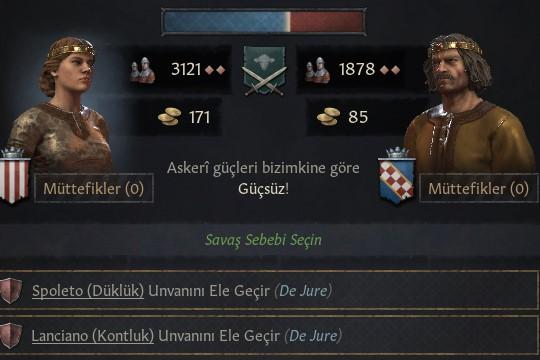 Strategyturk Crusader Kings III Türkçe Yama 1.4.1 (%100) Çıktı