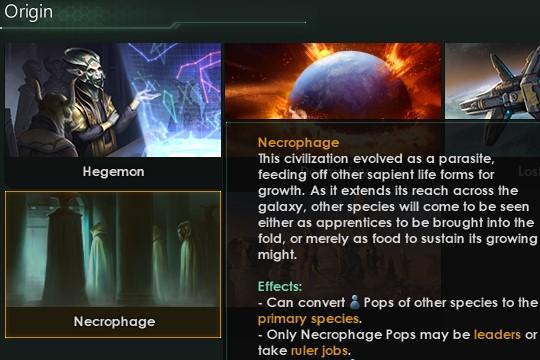 Stellaris'te Necroid Değişiklikleri